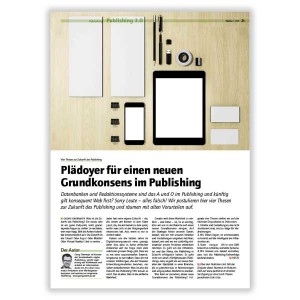 4 Theses on the future of publishing