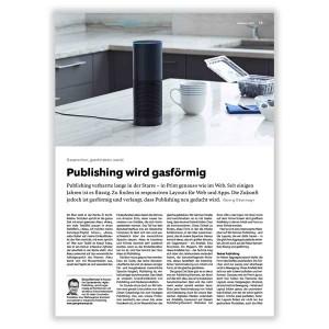 Publishing goes gaseous